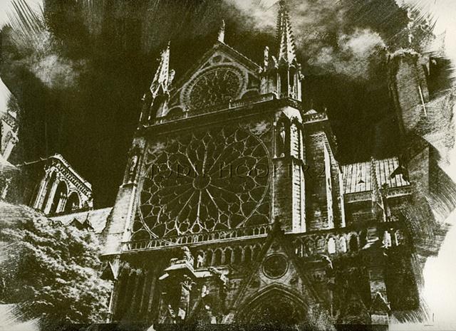 Notre Dame Gum Print