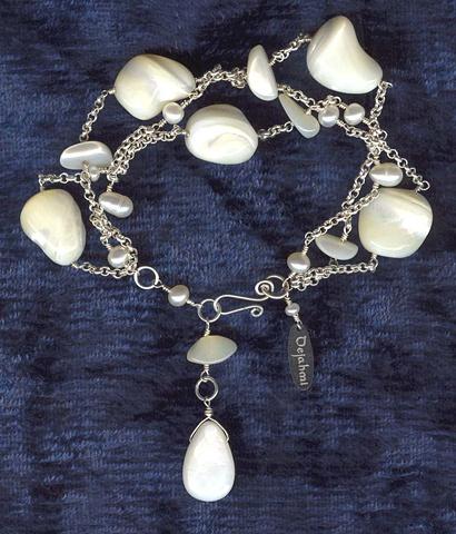 Three Strand Pearl Twist Bracelet