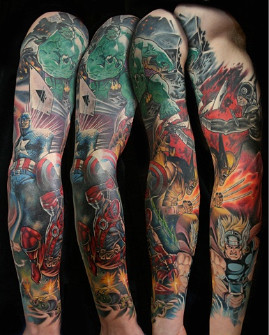 Marvel Comic Sleeve