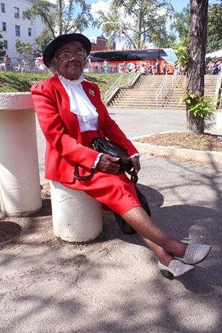 Lady In Red (Adams Morgan Day), 2009