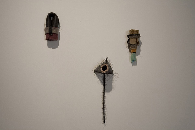 Captive Audience-Detail of installation