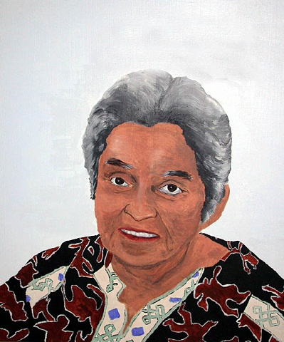 Portrait of Marie Leo, Lil'wat First Nation, Mount Currie, British Columbia, Canada