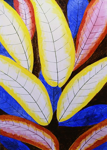 nature, contemporary , leaves, banana