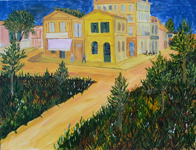 van Gogh, Vincent, yellow house