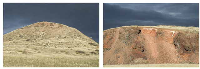 ROAD CUT DIPTYCH