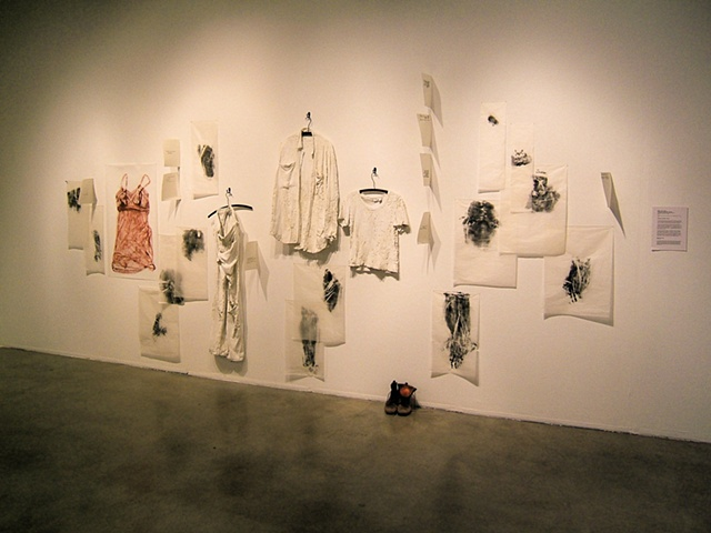 Sweeping Light with a Broom, installation view