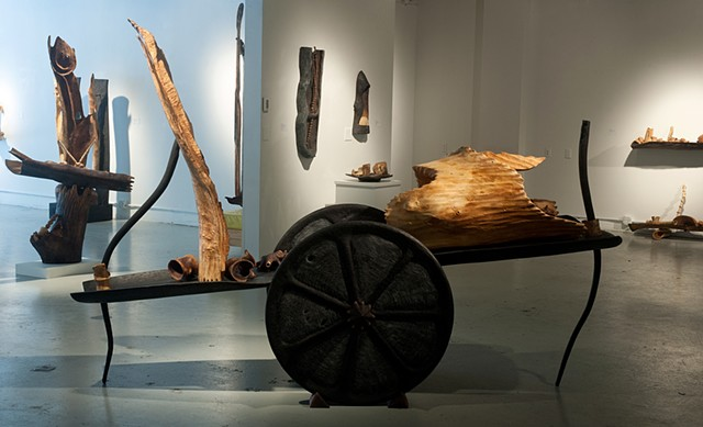 """Itinerant Objects"" Exhibition View"