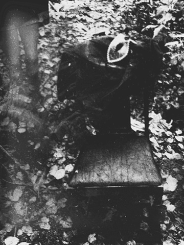 Untitled In The Woods With Chair & Mask