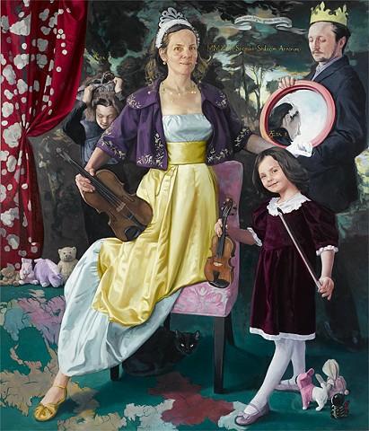 based on Tudor Family Portrait