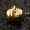 Gold Chick Pea Necklace