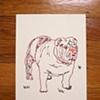 English Bulldog Notecards