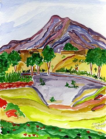 Alvand Mountain and Hekbataneh