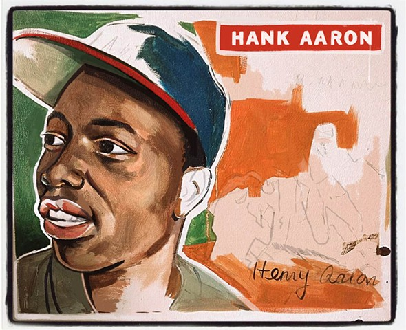Hank Aaron, the Home-run King!