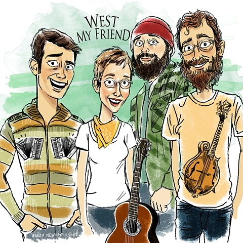 West My Friend! for Sessions from the Box