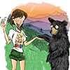 Woman Meets Bear