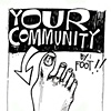 &quot;Your Neighborhood By Foot!&quot; map/zine