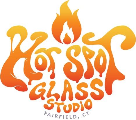 Hot Spot Glass Logo Design