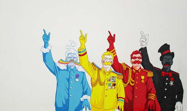 The Four Stalins