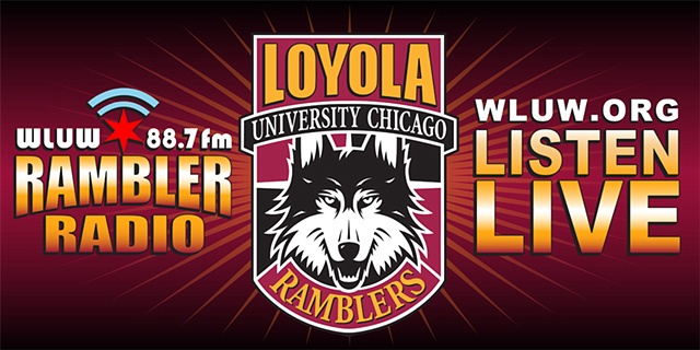 sports banner loyola graphic design chicago