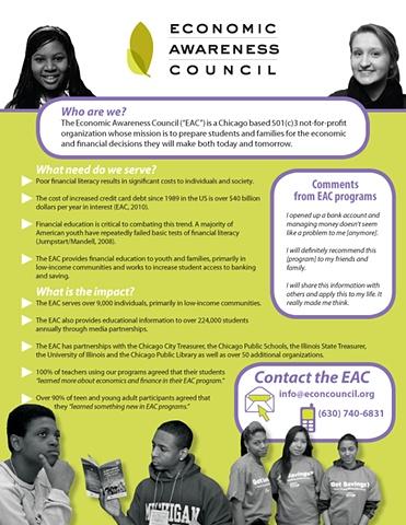 Economic Awareness Council Flyer