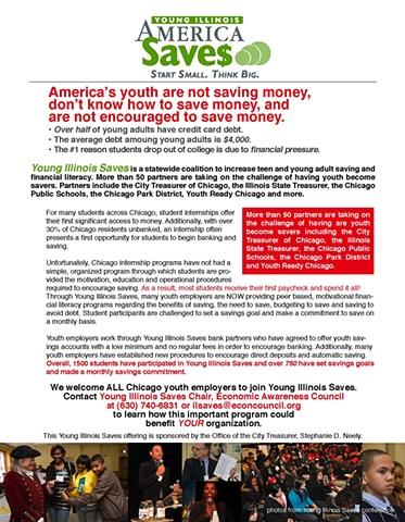 America Saves Flyer