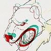 Polar Bear with 3D Head