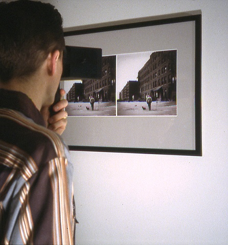Viewer using Stereoscope