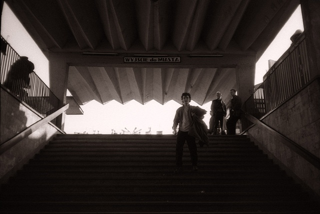 Train Station Exit