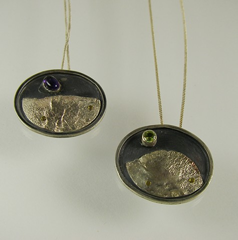 Planet Necklaces