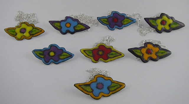 Las Florecitas necklaces