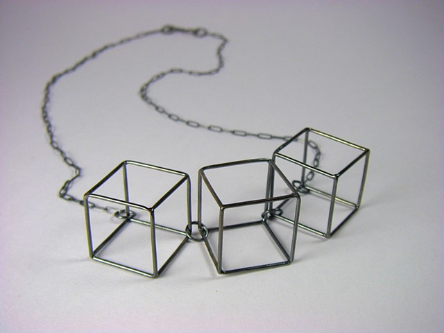 Little Boxes Necklace