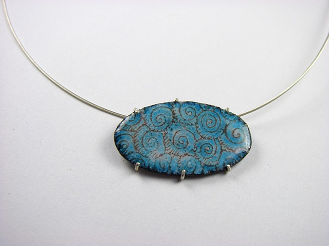 Sea Disk Necklace