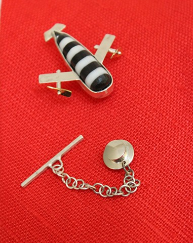 Airplane Tie Tack