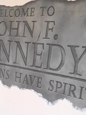 John F. Kennedy Entrance Mural: DETAIL