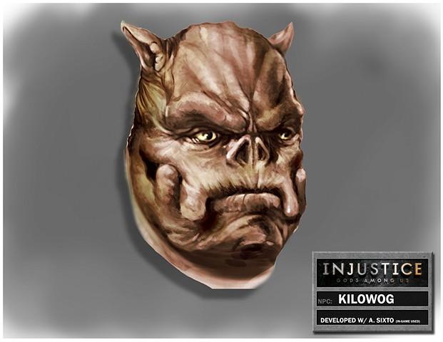 NPC: Kilowog Head Shot