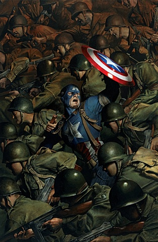 Captain America & the Heroes of WWII