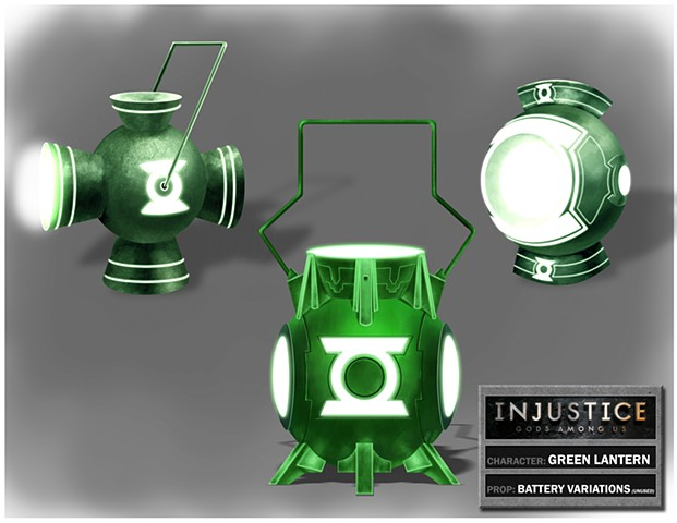 Green Lantern Battery Variations