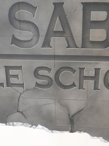 Aux Sable Entrance Mural: DETAILS