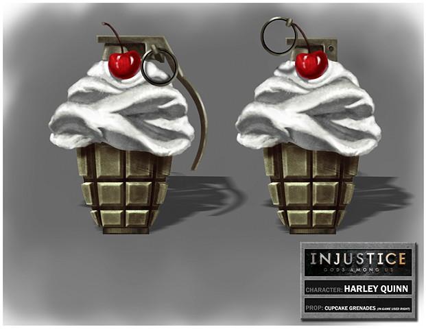 Harley Quinn's Cupcake Grenade