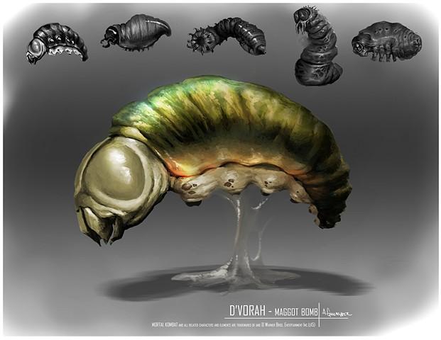 D'Vorah Prop Concept: Maggot Bomb