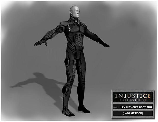 NPC: Lex Luthor Body Suit Variation 1