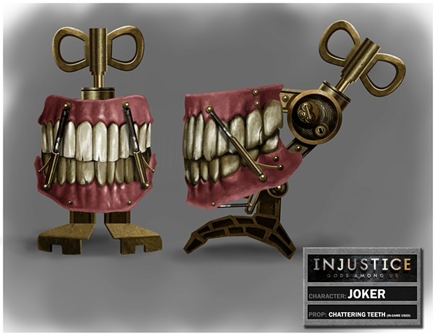 Joker's Chattering Teeth