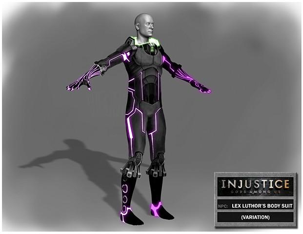 NPC: Lex Luthor Body Suit Variation 2