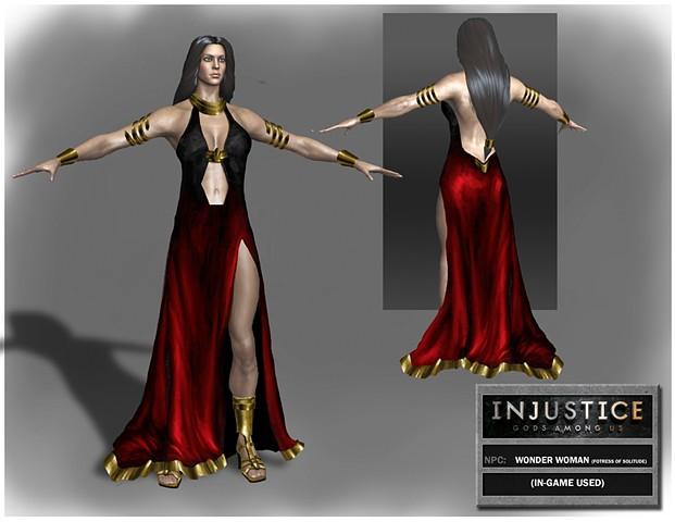 NPC: Wonder Woman (Fortress of Solitude)