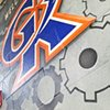 GK Gym Entry Mural - Detail 3