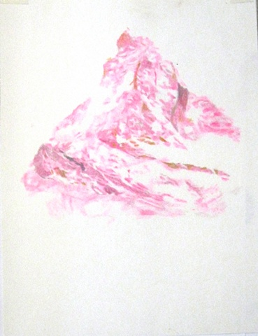 What is Visible (Pink Mountain I)