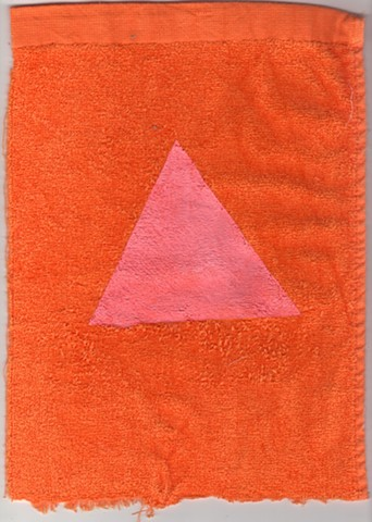 triangle towel sketch