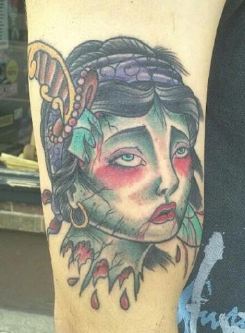 Dead Girl Head