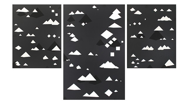 Pyramids (triptych) from Future Systems series