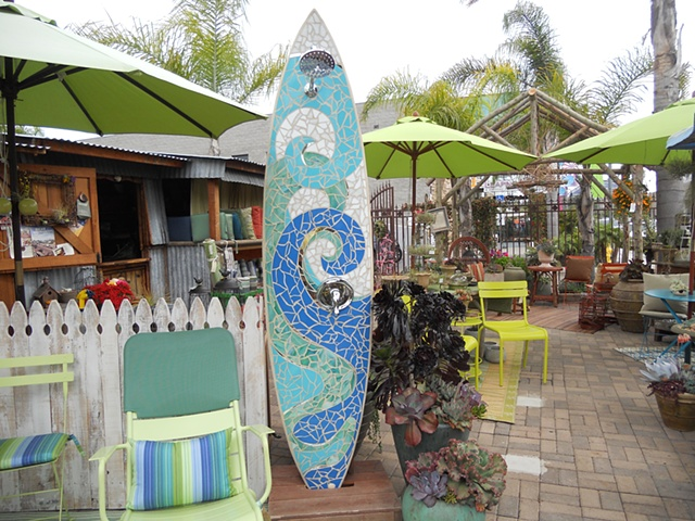 Custom Surfboard Shower Palm Springs, CA